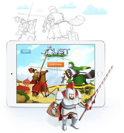jousting game design