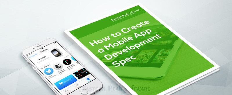 mobile application specification