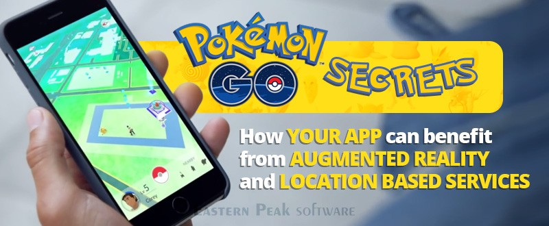 Pokémon Go secrets. Augmented Reality and location based services