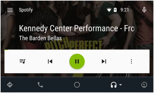 Spotifiy's-customized-Android-auto-UI