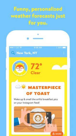 poncho-ios-chatbot-app-screen