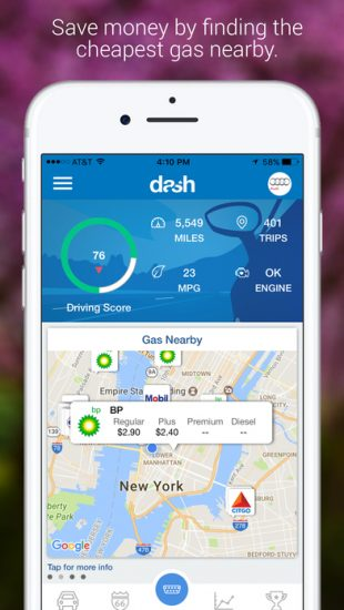 automotive-app-dash-by-car-maintenance-app-developers-screen
