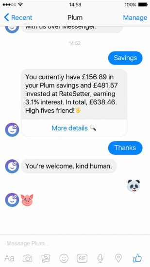 plum-micro-investments-personal-finance-app-savings-feature-screen