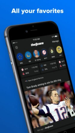 theScore-application